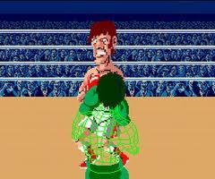 Punch Out Arcade Glass Joe