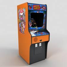 Donkey Kong Junior Arcade Cabinet