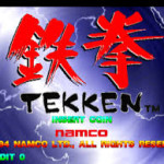 Tekken Title Screen