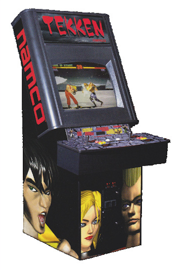 Fighting Game Cabinet
